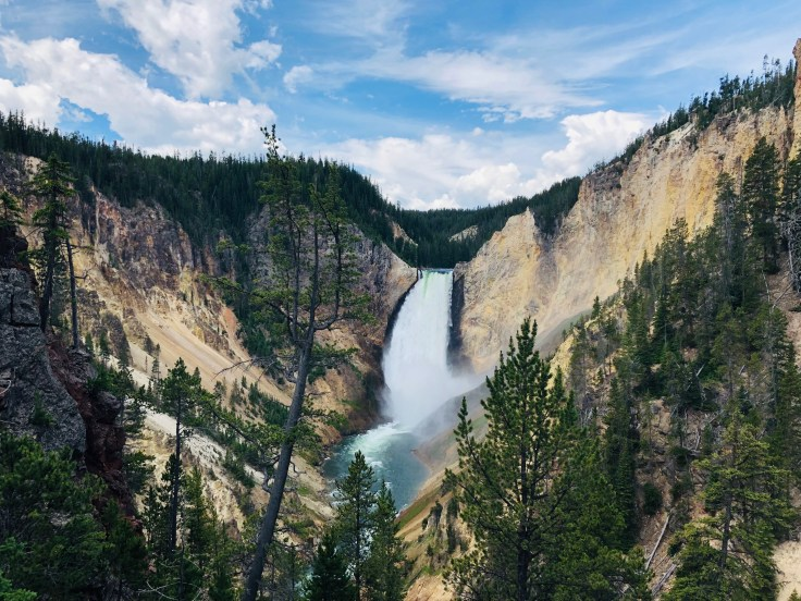 Grand Canyon of the Yellowstone, yellowstones grand canyon, 5 Things to do in Yellowstone National Park