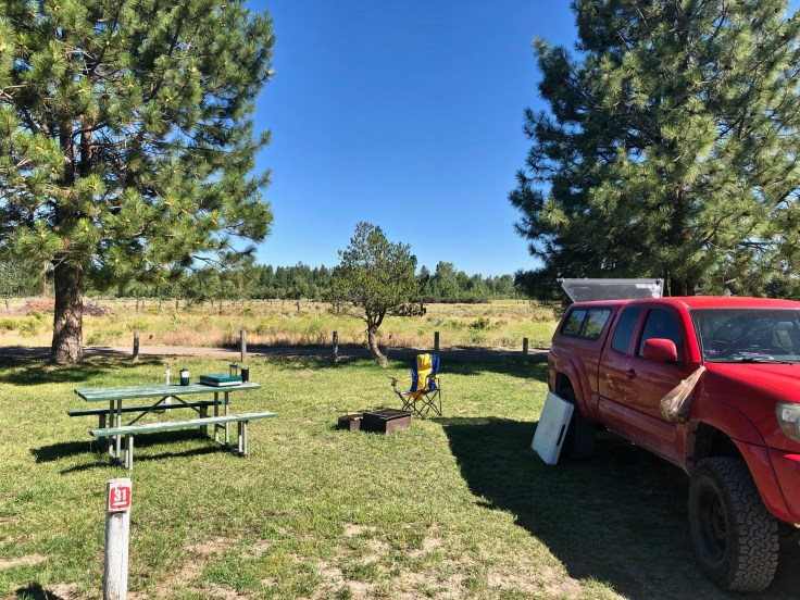 Waterwheel Campground onThe Epic Western US and Canadian Road Trip