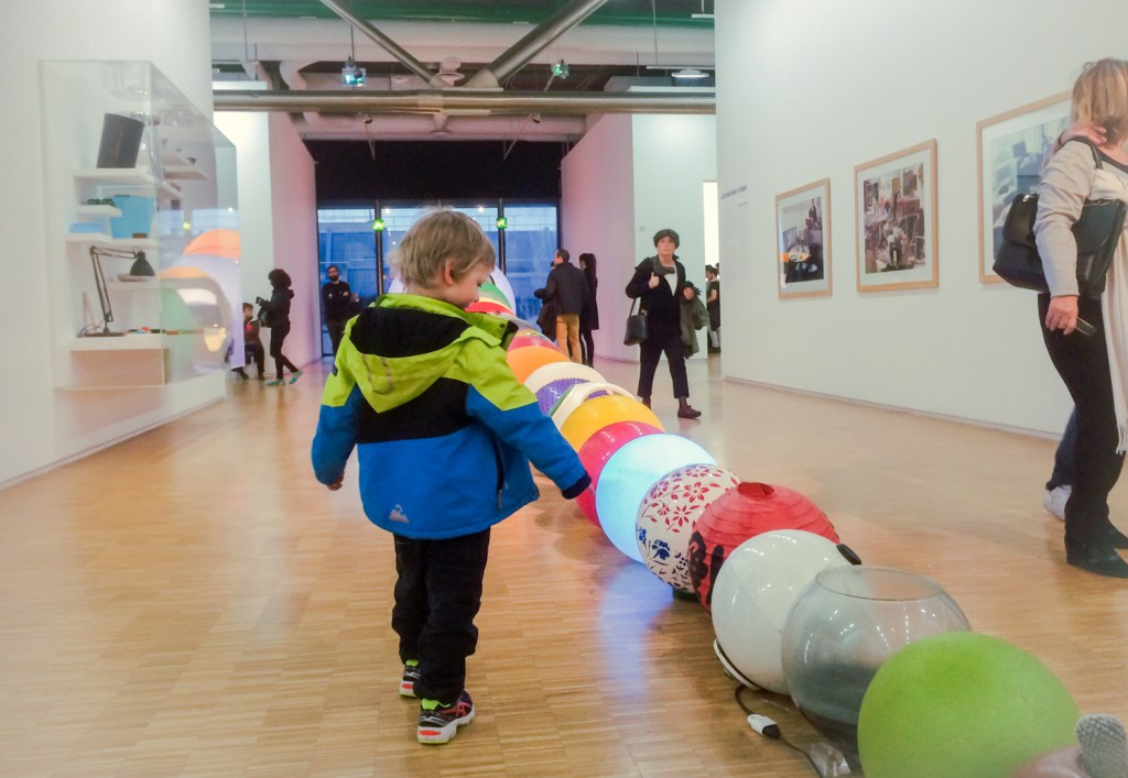 Things to with kids in France - Centre George Pompidou