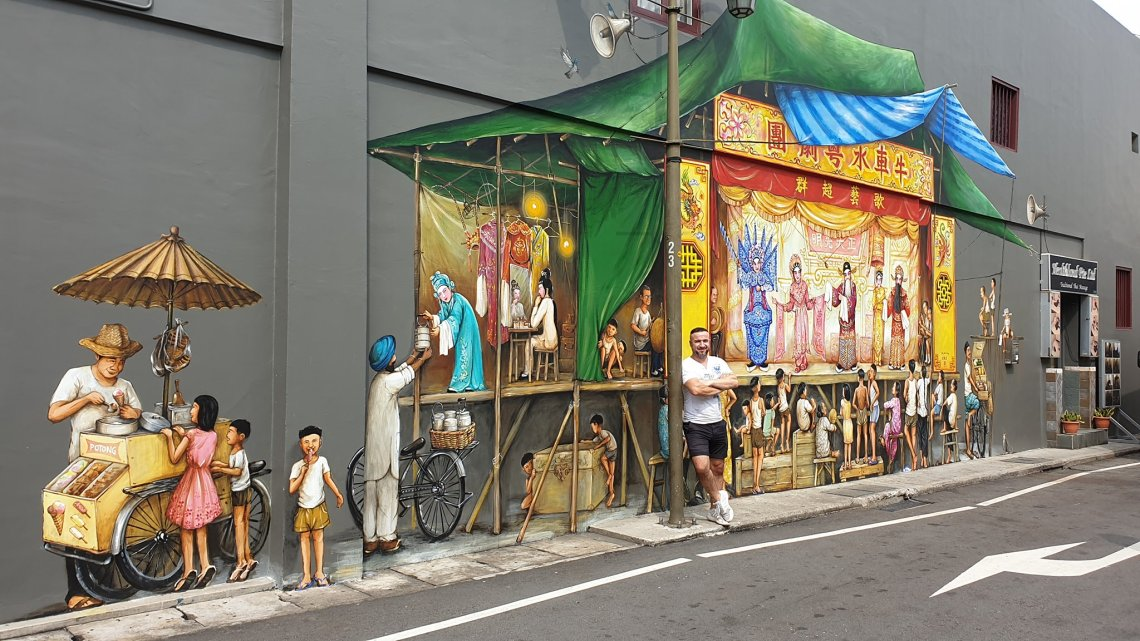 things to do with kids in Singapore - food tour