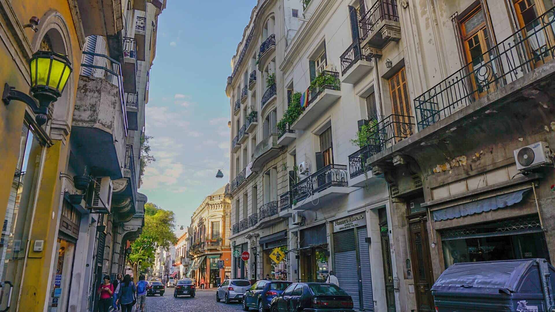 San Telmo, one of the many neighbourhoods of Buenos Aires