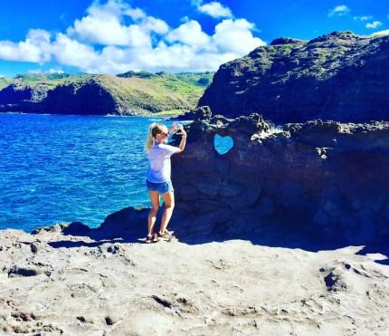 Heart Shaped Rock, Maui (Priyanka Upadhyay)