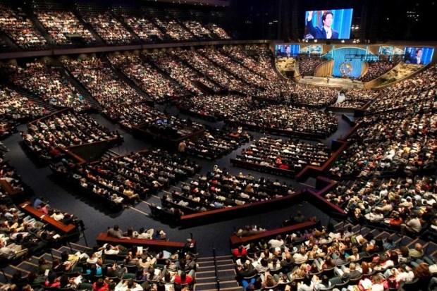 Lakewood Church Houston, TX largest church in america
