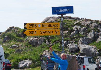 Auf geht's zum Nordkapp