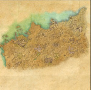 The Maps of the Elder Scrolls Online - Alik'r Desert