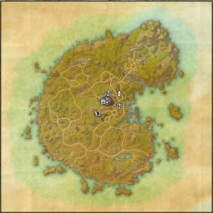 The maps of the Elder Scrolls Online - Betnikh
