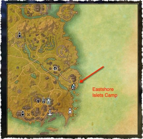 Secret Crafting Spot - Eastshore Islets Camp