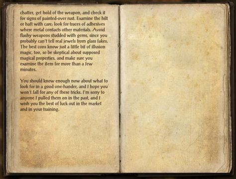 Books in Craglorn - A Grifter's Apology page 2