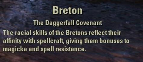 Exploring the Elder Scrolls Online - Description of the Breton Race