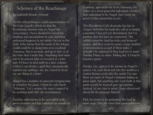 The Books of the Elder Scrolls Online - Schemes of the Reachmage