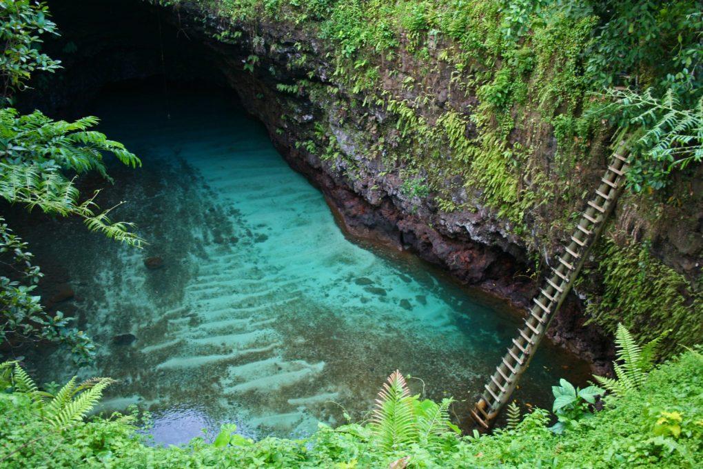 To Sua Ocean Trench Samoa Savai'i or Upolu