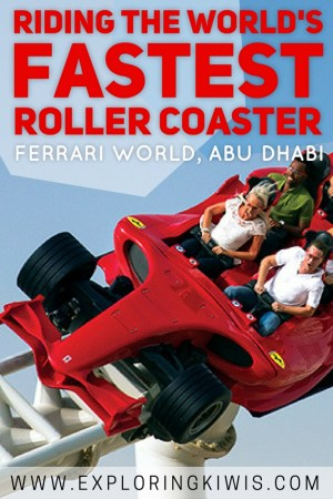 The most popular theme park in Abu Dhabi, Ferrari World is home to the fastest roller coaster in the world. Is the rest of the park worth visiting though? Find out!