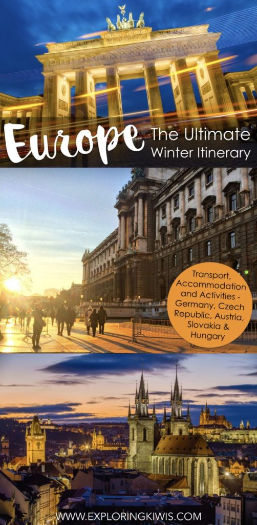 Your ultimate European winter itinerary. Covering Germany, Czech Republic, Austria, Slovakia and Hungary along with transport, activities and accommodation, this guide is all you need to plan your next Christmas vacation.