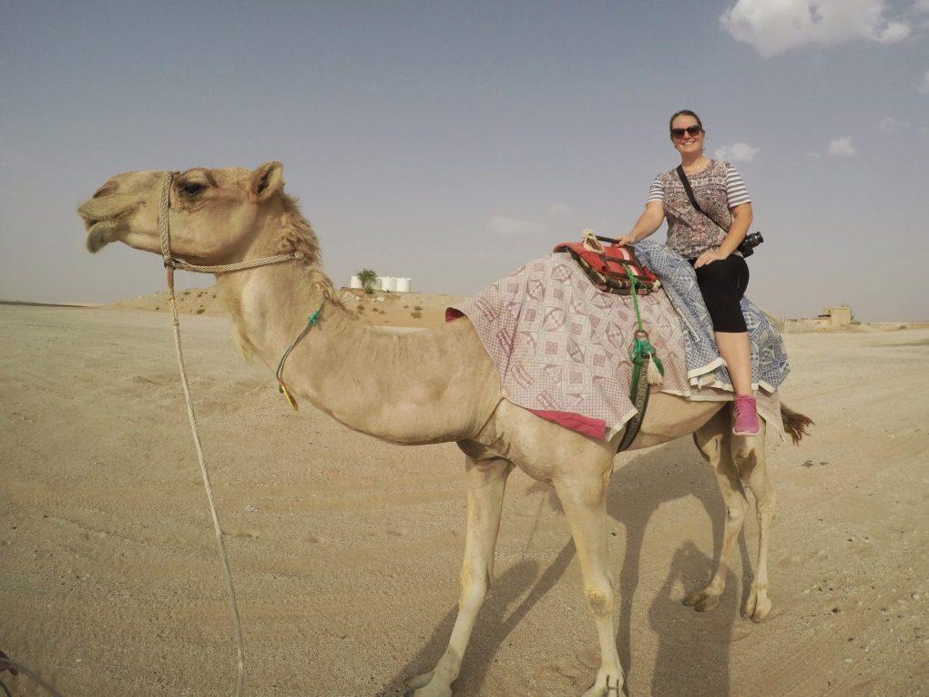 Tilal Liwa Hotel camel ride