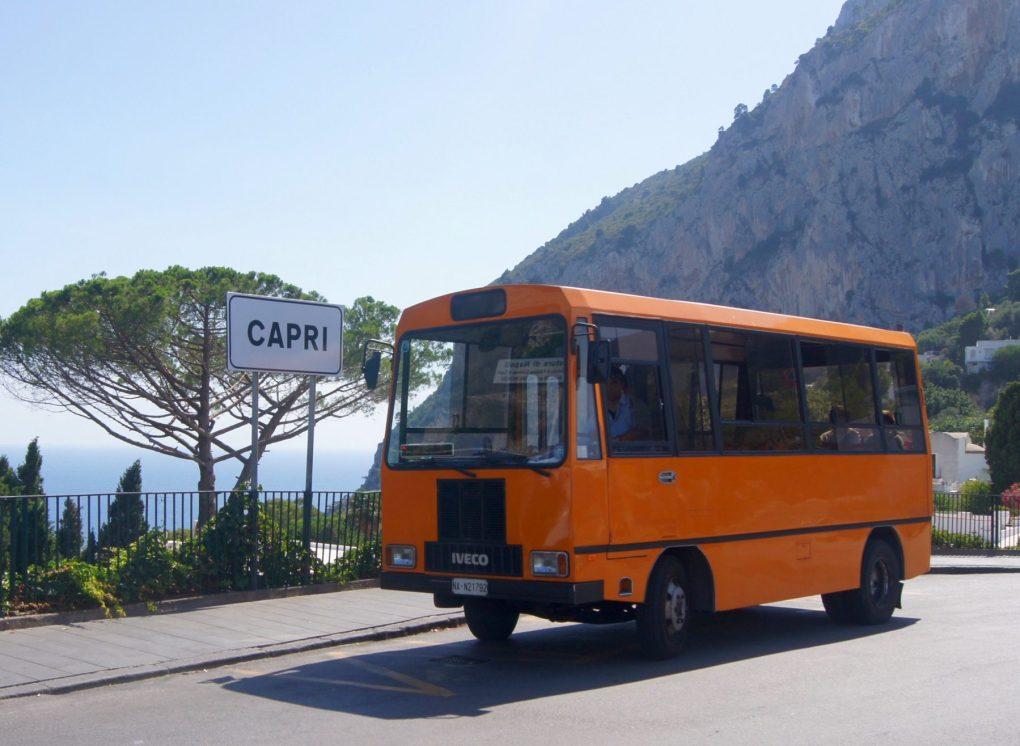 exploring capri