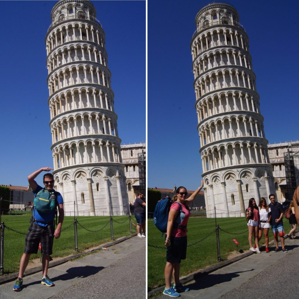 leaning tower of pisa exploring kiwis