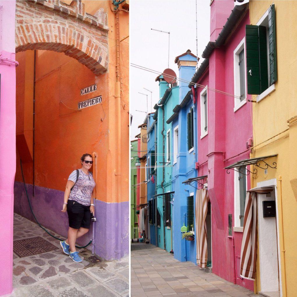 Burano coloured village