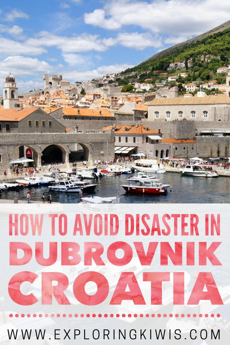 Travelling isn\'t always easy.  Everything that could go wrong in Dubrovnik did - find out how we put it right and learn from our mistakes!