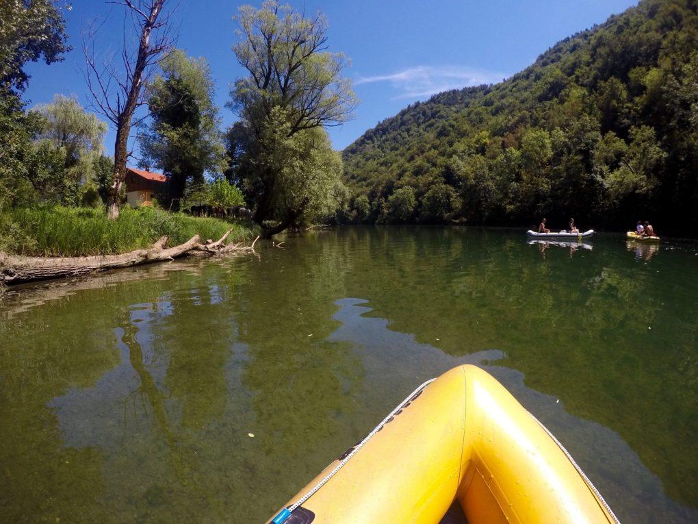 canoe kolpa river slovenia