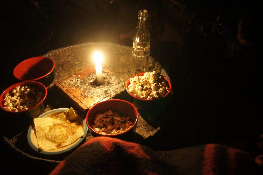 Movie Garden Pokhara nepal popcorn snacks