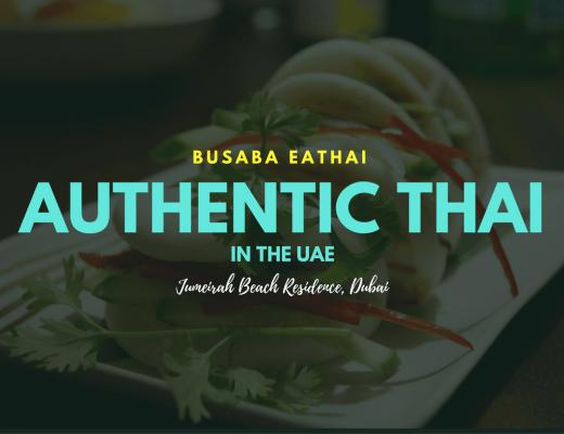 Busaba Eathai JBR Dubai review