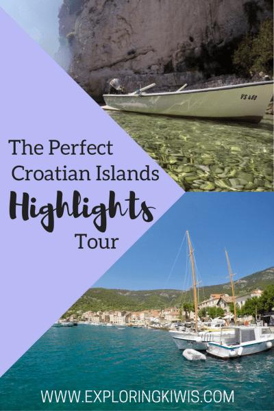 Croatian island hopping tour review