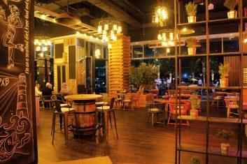 Catch 22 JBR Dubai inside restaurant