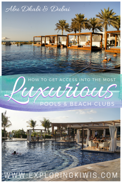 Abu Dhabi Dubai Beach Pool Club Privilee review membership