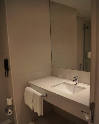 Rove City Centre Dubai review bathroom