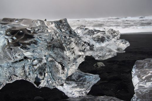 Jökulsárlón Diamond Beach winter South East Iceland Itinerary Ring Road