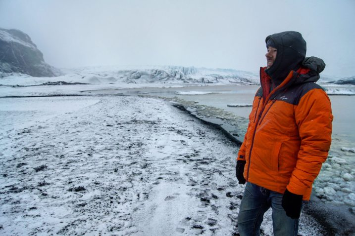 Skaftafell Glacier Iceland winter South East Iceland Itinerary Ring Road Kathmandu driFILL jackets