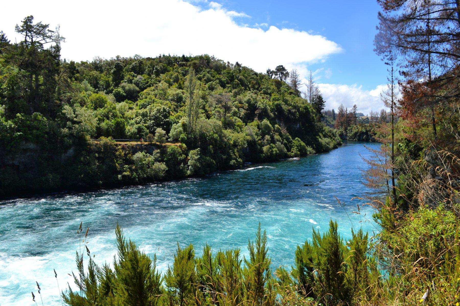 Taking on Taupo - Prawn Fishing and Huka Falls