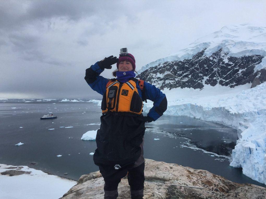Zena Exploring Kiwis Antarctica