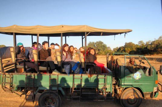 Overlanding Africa safari vehicle