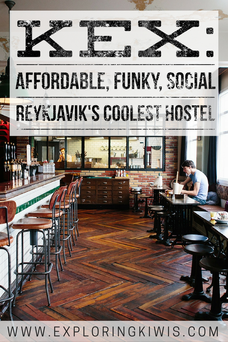 Iceland\'s funkiest hostel!  Accommodation in Reykjavik is expensive at the best of times but Kex Hostel is a great way to stay in the centre of the city without breaking the bank.  It\'s quirky, comfortable and social - what more could you need?