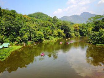 Borderlands glamping Sri Lanka riverside