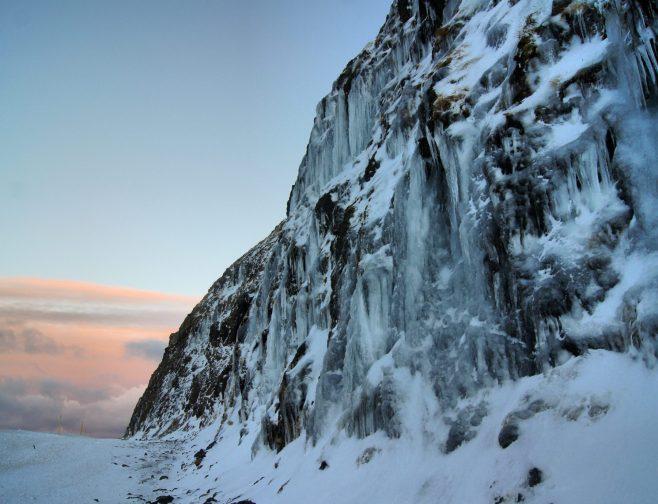 Snæfellsnes Peninsula Moonwalker Tours Iceland icewall
