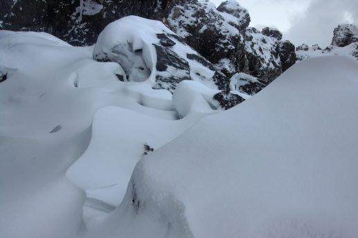 Snæfellsnes Peninsula Moonwalker Tours Iceland Dritvik Djúpalónssandur deep snow