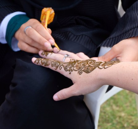 Doha city henna