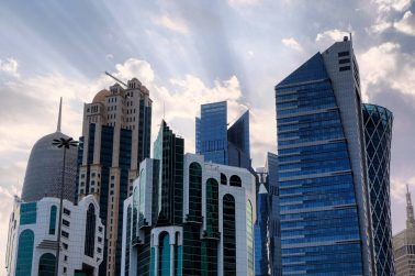 Doha city skyline