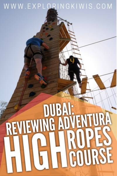 Dubai's full of amazing tourist activities but here's one you won't have tried! Aventura Adventure park has something for everyone. Which course will you choose?