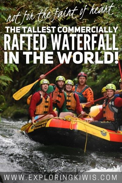 Find out what it's like to go over the biggest commercially rafted waterfall in the world. New Zealand, home of adventure sports should be next on your list! Rotorua, NZ