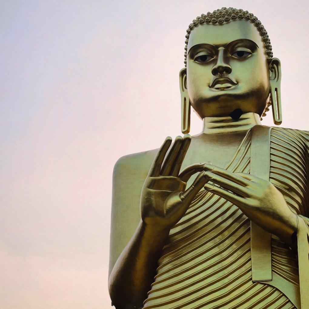 Sri Lanka tourism religion Golden Buddha