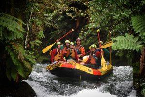 Rafting the Kaituna River, Rotorua New Zealand