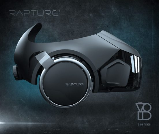RAPTURE HMD PROFILE VIEW