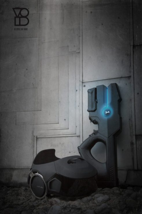 RAPTURE MARK IV GUN & HMD