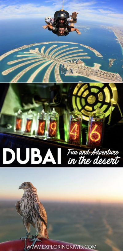 The best fun and adventurous things to do in Dubai, UAE. Sky diving, escape rooms, water parks, hot air ballooning and more - all of the activities you need to book in the city!