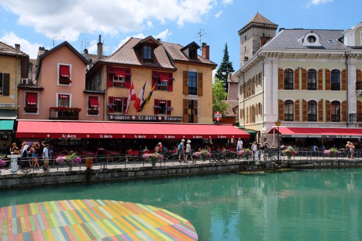 Annecy Old Town Canals