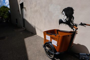 Annecy Old Town street art