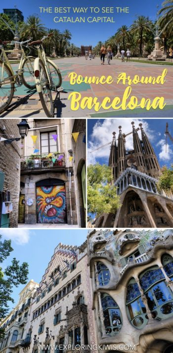 Discover the best tour in Barcelona, Spain. Bounce Around Barcelona will plan an amazing itinerary and show you the best tourist sites in the city. From Gaudi to the best secret bar, this tour covers off all the highlights and then some!